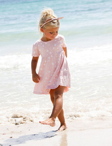 Love heart summer dress - BabyRebate