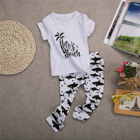 Life's a beach baby clothing set - BabyRebate