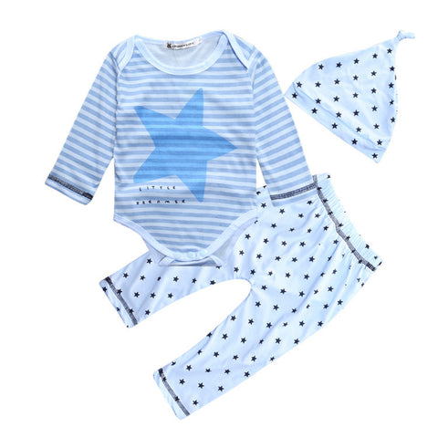 Blue star baby clothing set - BabyRebate
