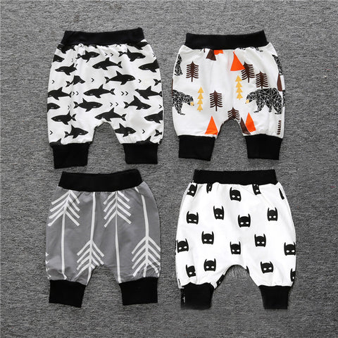 Cartoon unisex baby pants - BabyRebate