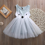Fashion fox baby girl dress