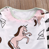 Unicorn 3 pieces clothing set - BabyRebate