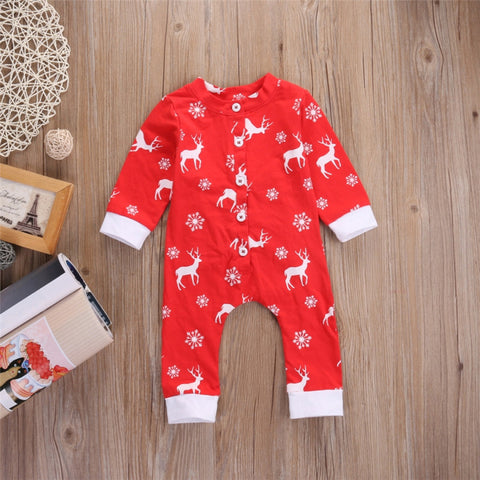 Deer long sleeve jumpsuit - BabyRebate