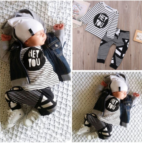 Hey You baby clothing set 2pcs