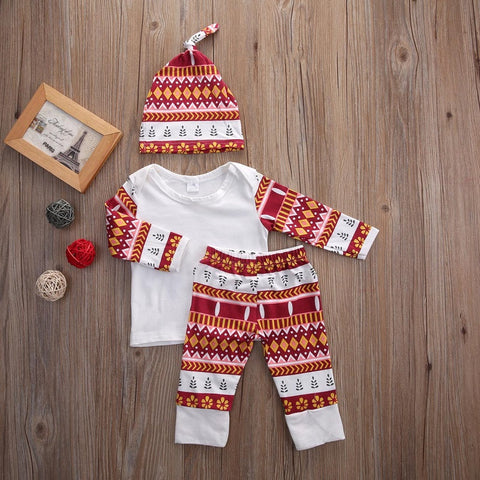 Autumn baby 3pcs clothing set