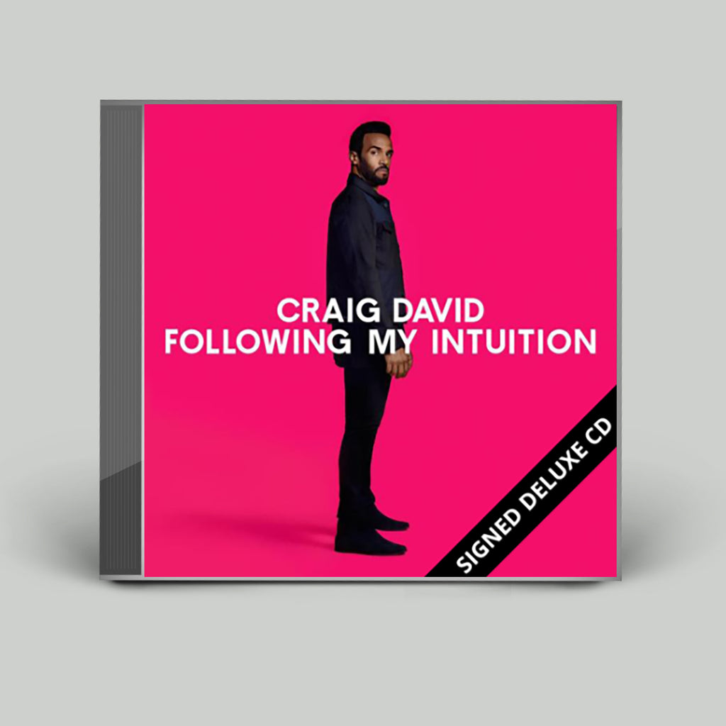 Following My Intuition Signed Deluxe CD