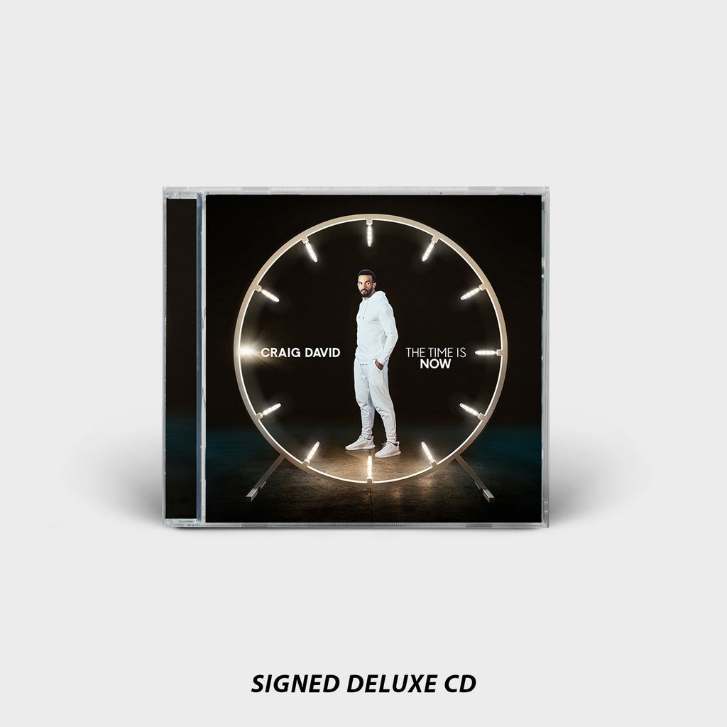 THE TIME IS NOW SIGNED DELUXE CD
