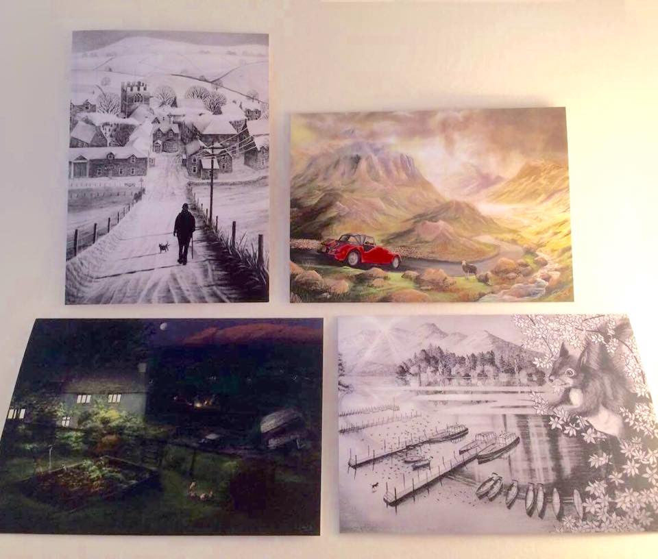 Check out these great new cards by Alpiglen Art & Photography, printed from his amazing original work!