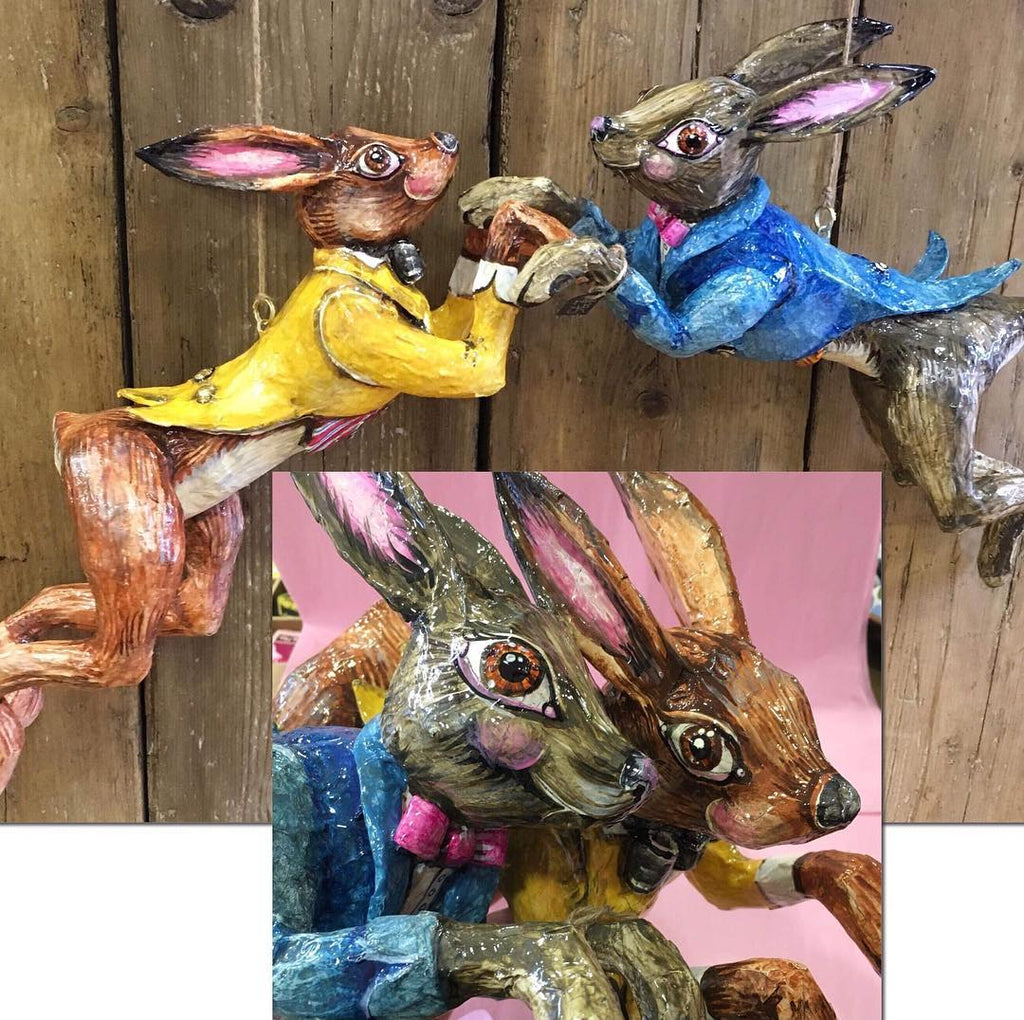 Spring has sprung and so have the Hares in Ambleside today!