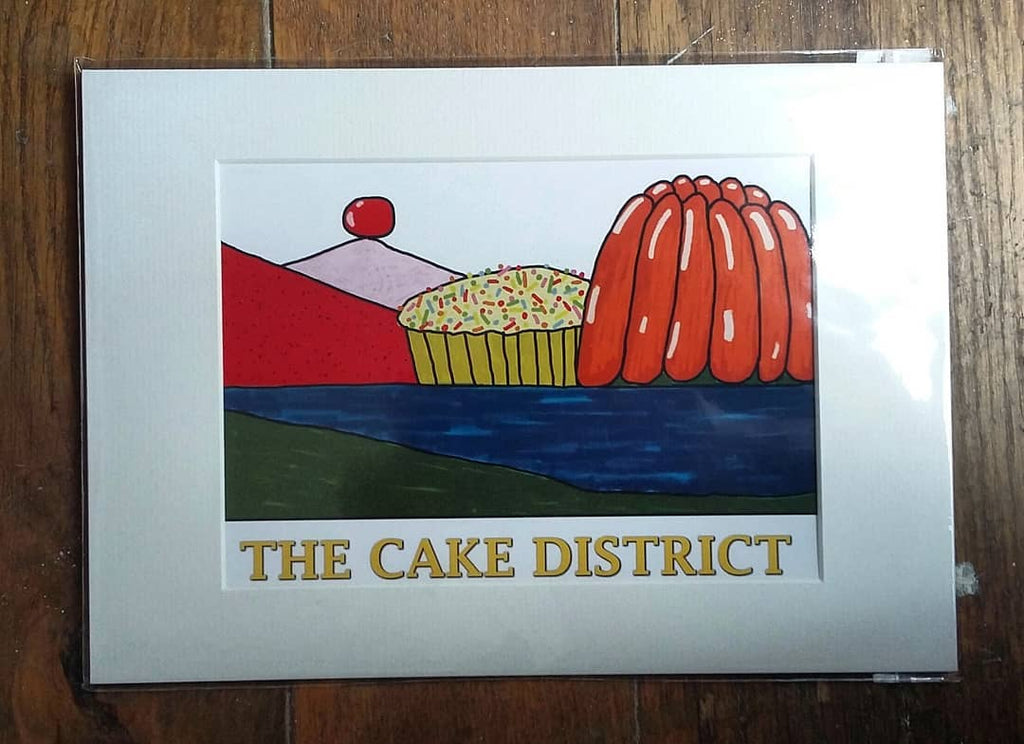 Cake district.....