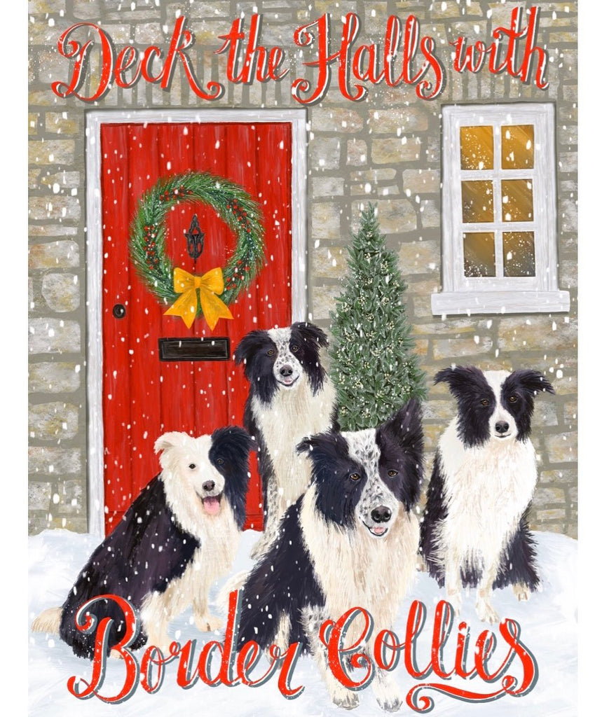 **DECK THE HALLS WITH CHRISTMAS COLLIES!**