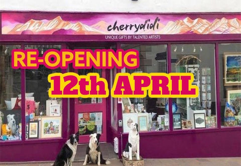 RE-OPENING 12TH APRIL! Yes that's right, we're getting ready to re-open our doors to you lovely folk 👏 ♥️🇬🇧