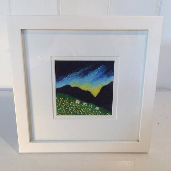 Embellished Felted Prints by Kate Boulter