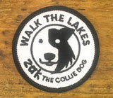 Walk the Lakes - Zak the Collie Dog - Hiking Patch
