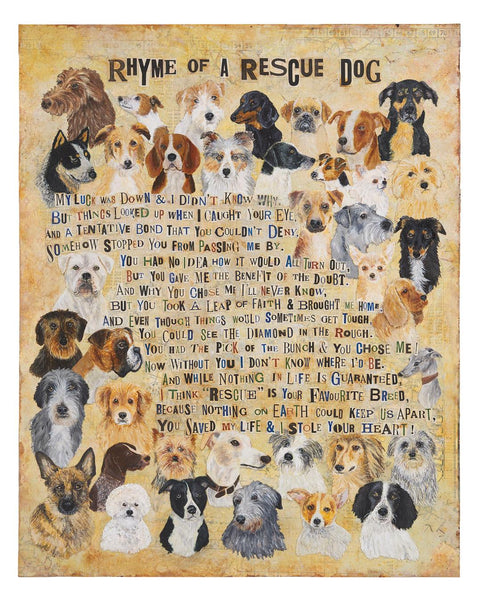 Rhyme of a Rescue Dog by The Enlightened Hound