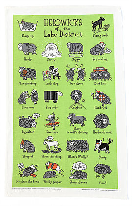 Herdwicks of the Lake District - Tea Towel