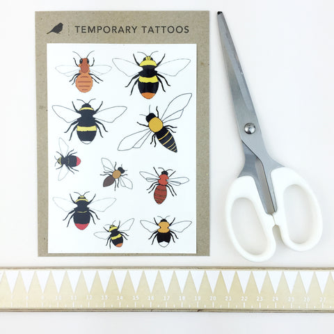 Temporary Tattoos by Kate Broughton