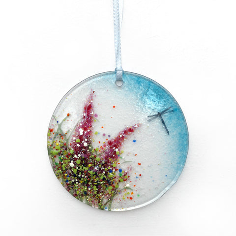 Meadow Collection Hanging Decoration' Glass by Colette Halstead