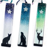 StarWish Stick Hanging Decoration by Colette Halstead Glass