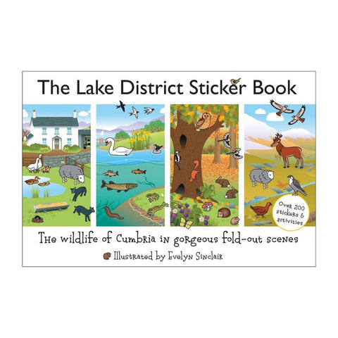 The Lake District Sticker Book for Kids