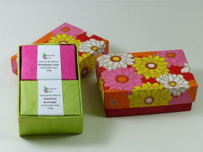 Soap Gift Boxes by Essential Spirit