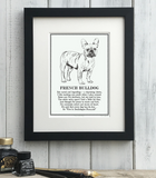 Doggerel Poem Prints (A-L) for Dog Lovers by The Enlightened Hound