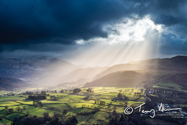 'Angel's Torch by Bleaberry Fell'