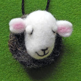 Sheep Key Charms - Needle Felted by Fell View Felting