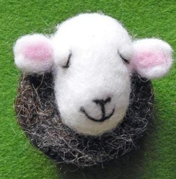 Sheep Magnets - Needle Felted by Fell View Felting