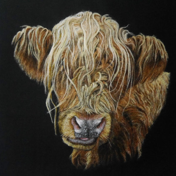 Fine Art Print of 'I Can See You' - by Fell View Felting