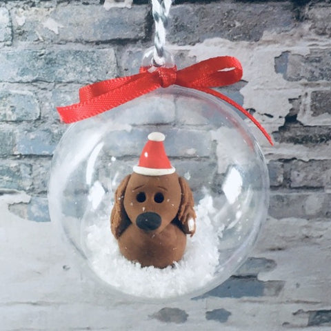 Christmas Animal Bauble Decorations by Jo's Little People