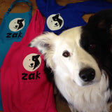 Zak, Zak the Collie Dog, Giftware, Cherrydidi, Cumbria, Lake District, Keswick, Face of the Lakes, ethical, shopping bag, bag