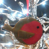 Fused Glass Christmas Decorations by Fantastical Fusion