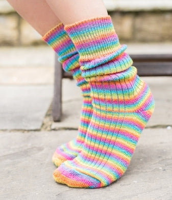 West Yorkshire Spinners Socks- The Cocktail Collection