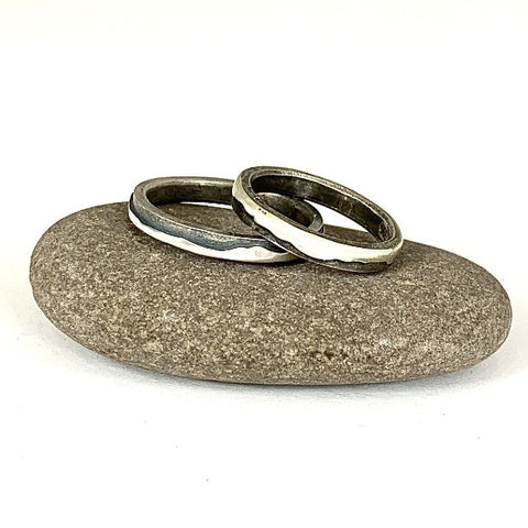 LANGDALES Mountain Ring - Silver (3, 4 or 6mm width) - Sterling silver by Brightstar109