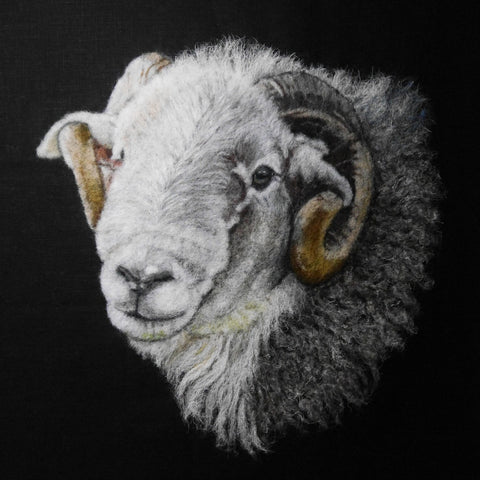 Fine Art Print of 'Thinking of Ewe' - by Fell View Felting