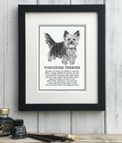 Doggerel Poem Prints (M-Z) for Dog Lovers by The Enlightened Hound