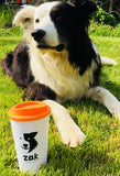 A Refillable Zak the Collie Dog Mug #ZakRefillableMug