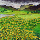 Blea Tarn - Lake District Needle Felted Original by Kate Boulter Felt Art & Embroidery