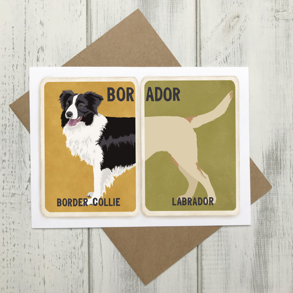 Cards for Cross Breed Dogs (Tops & Tails) by The Enlightened Hound