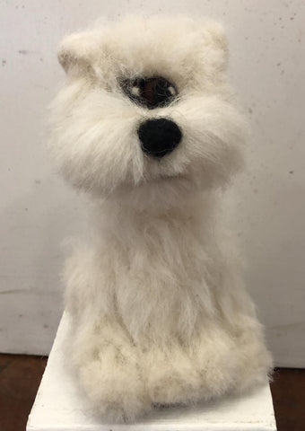 West Highland terrier - needle-felted by Night Owl Needle Felts