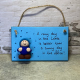 Hanging Plaques by Jo's Little People