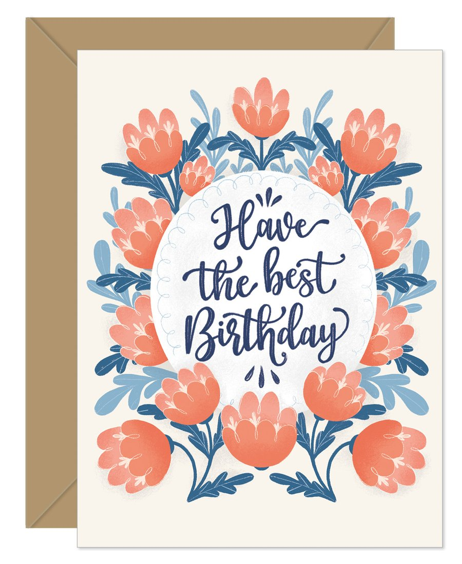 Hello Sweetie Design - Greeting Card - Have The Best Birthday