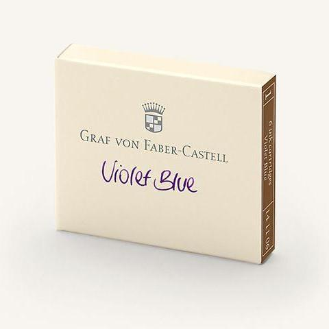 Graf von Faber-Castell - Cartridges - Mini - Violet Blue
