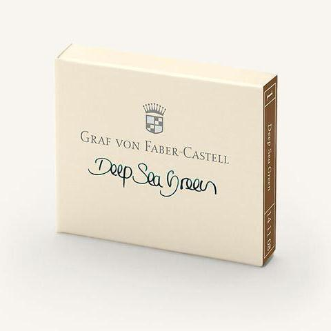 Graf von Faber-Castell - Cartridges - Mini - Deep Sea Green