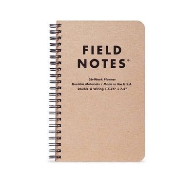 Field Notes - Weekly Planner - Coiled - Kraft