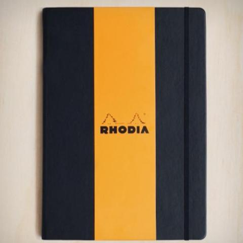 Rhodia - Hard Cover Notebook - A4 - Dot Grid