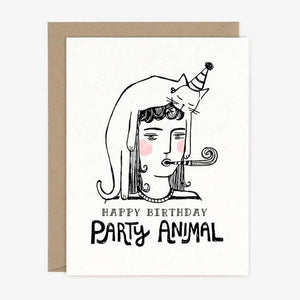 Paper Pony Co - Greeting Card - Party Animal