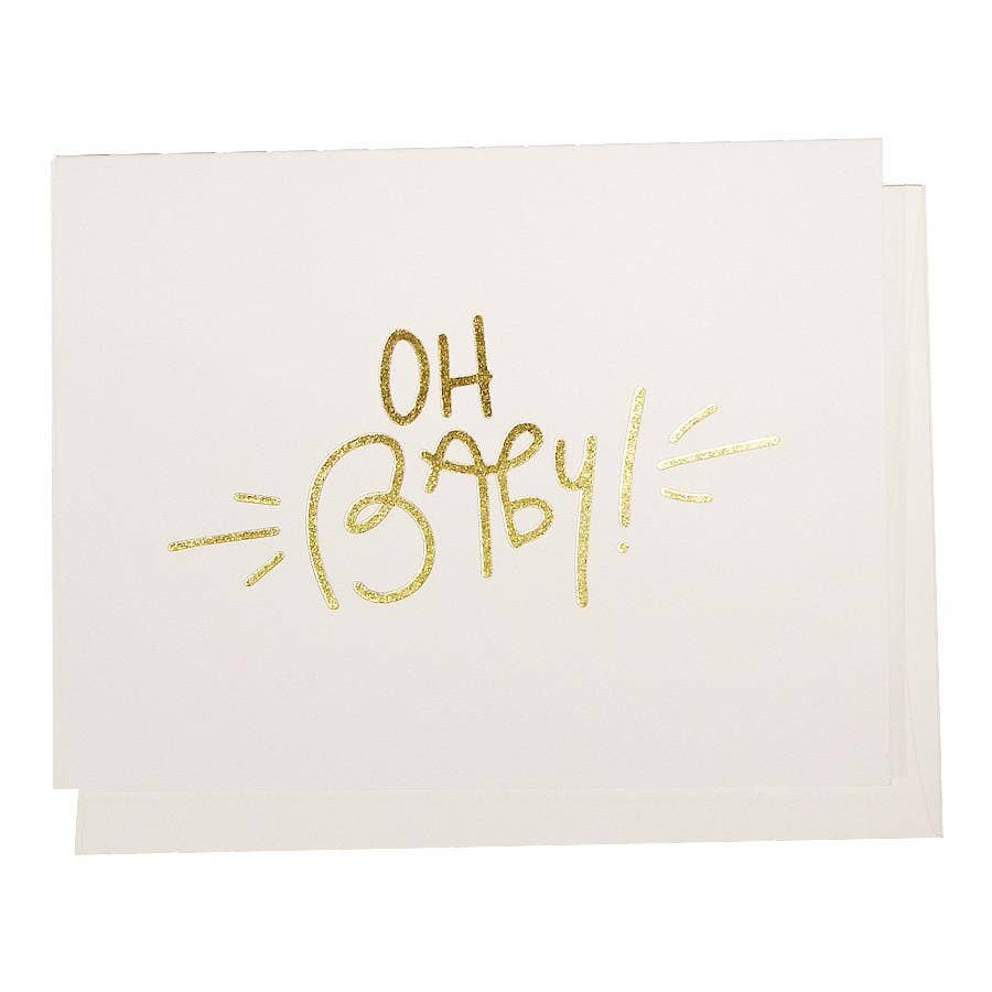 Penny Paper Co - Greeting Card - Oh Baby!