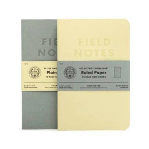 Field Notes - Notebook - Signature - Grey - Plain